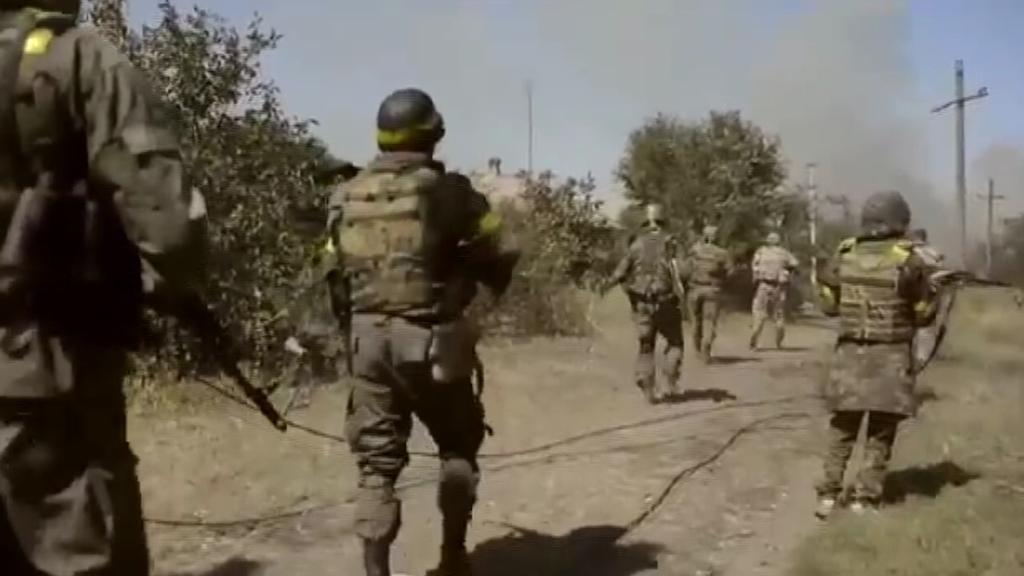 Dobrovolnické prapory na Ukrajině