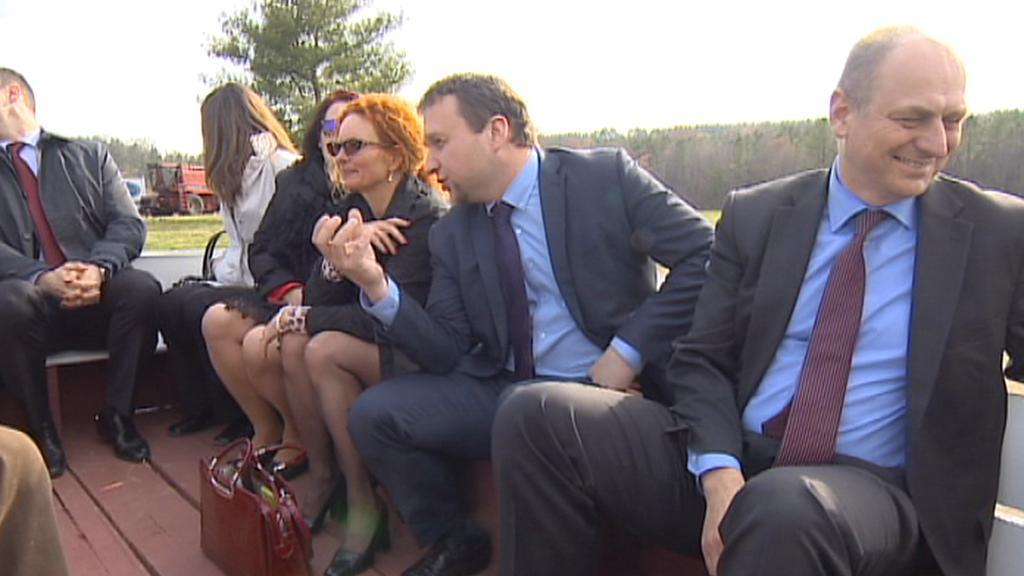 Ministr Marian Jurečka (KDU-ČSL) zavítal i na americký venkov