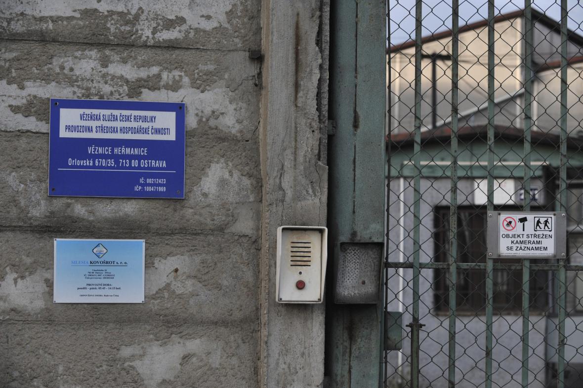 Výrobní areál Věznice Heřmanice
