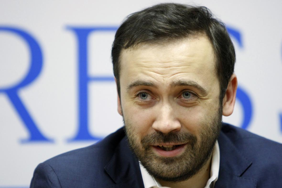 Poslanec Ilja Ponomarjov