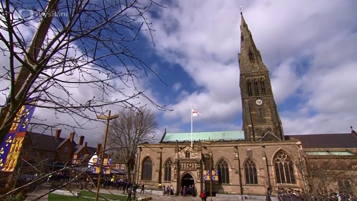 Katedrála v Leicesteru