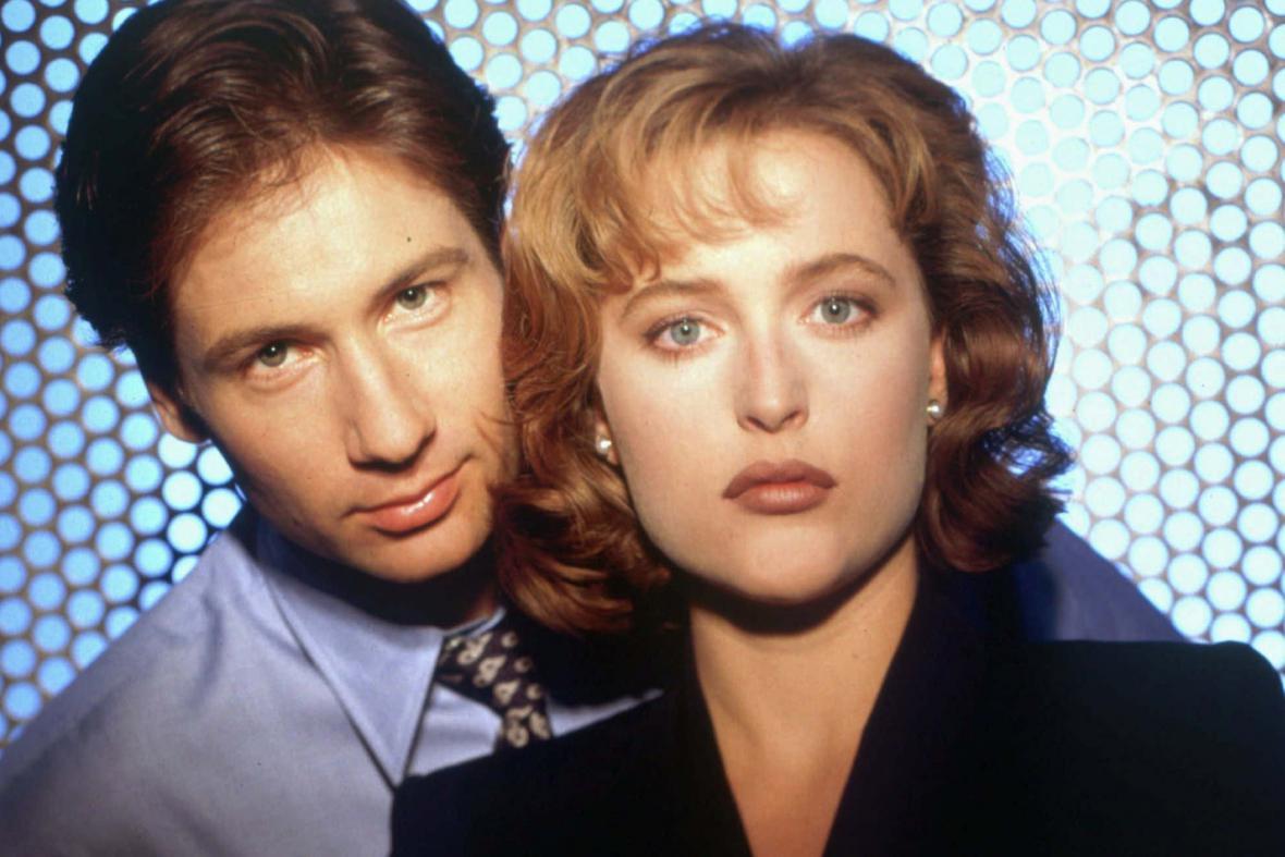 Akta X: David Duchovny a Gillian Andersonová