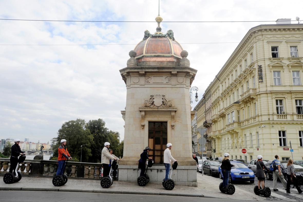 Vozítka Segway v Praze
