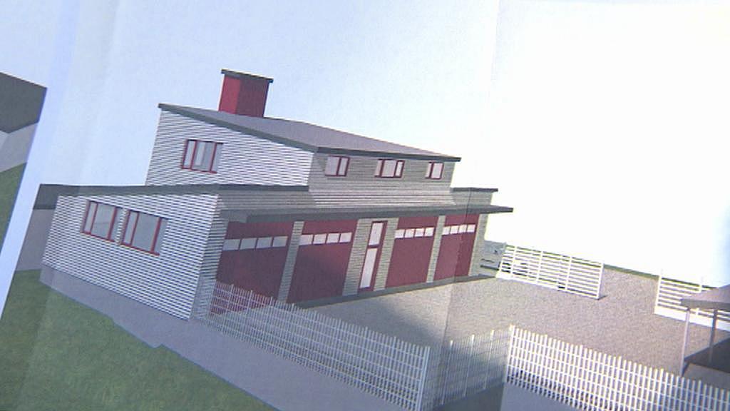 Projekt nové hasičské zbrojnice ve Svobodě nad Úpou
