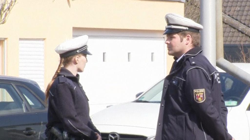 Policie u Lubitzova domu