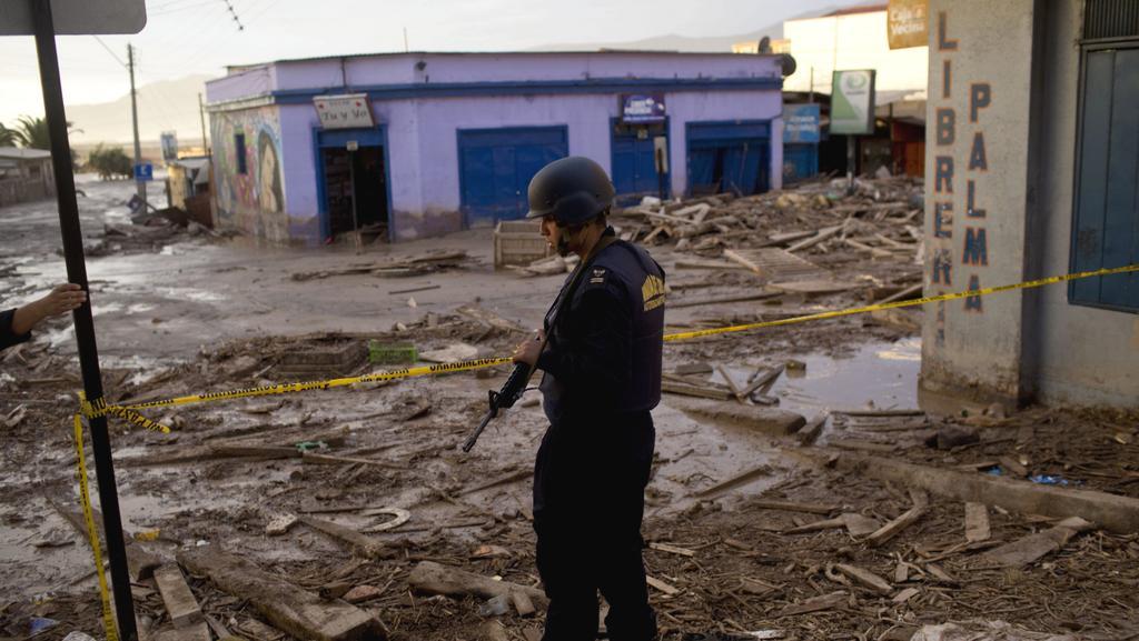 Následky povodní v Chile