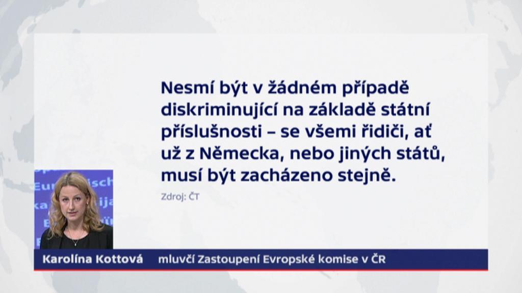 Vyjádření mluvčí Zastoupení Evropské komise v ČR Karolíny Kottové