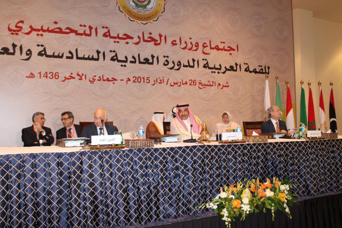 Krizí v Jemenu se zabýval summit Ligy arabských států