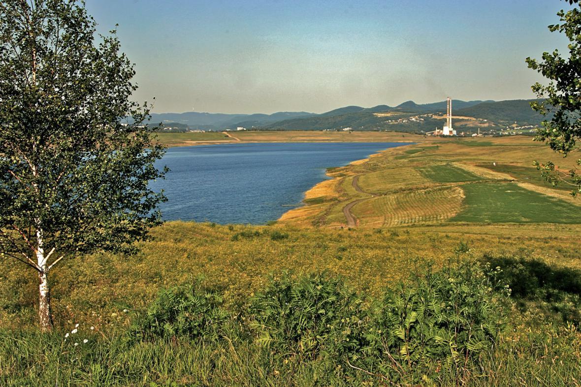 Fotografie z roku 2005 - jezero Milada