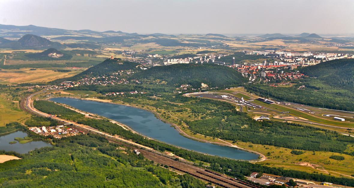 Prostor bývalého lomu Vrbenský - Matylda