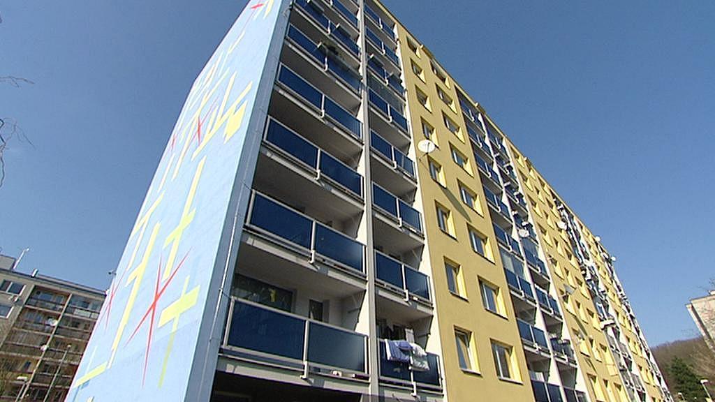 Komunitní panelový dům v Hodkovičkách