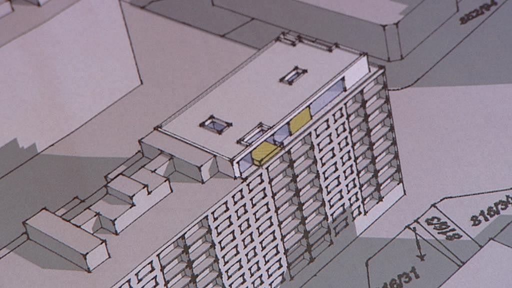 Projekt úprav na střeše