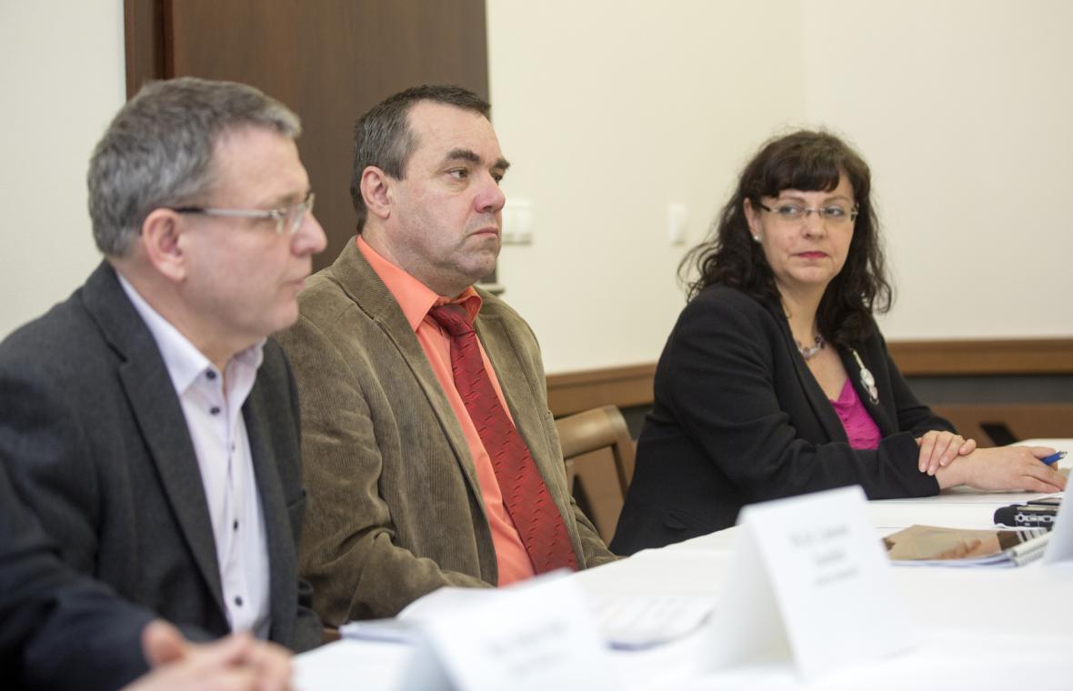 Michaela Marksová Tominová, Jaromír Pytlík, Lubomír Zaorálek