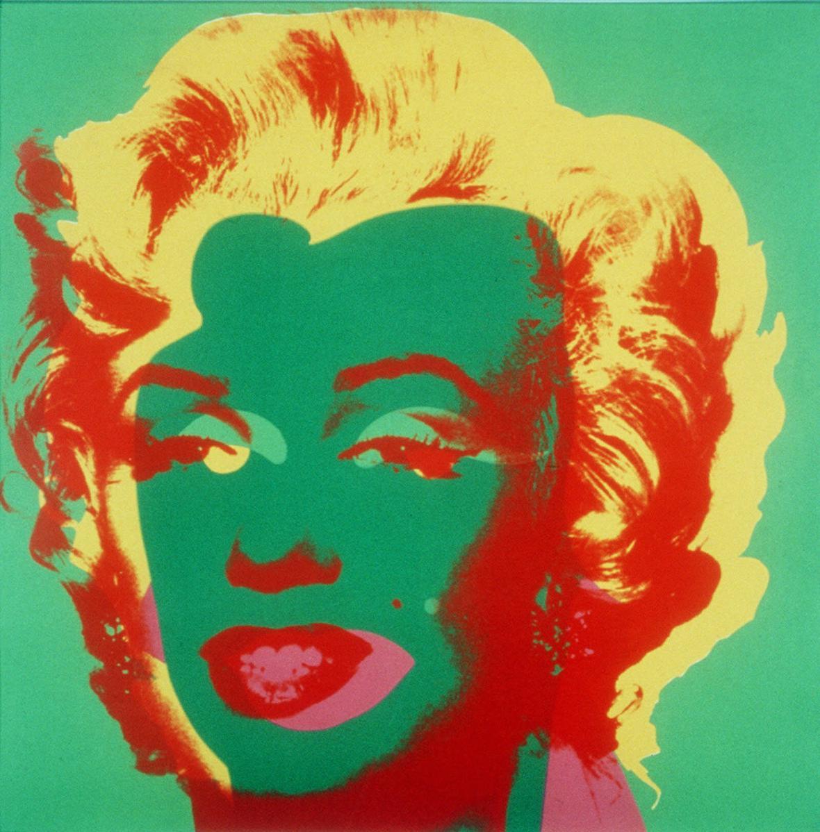 Marylin Monroe Andyho Warhola