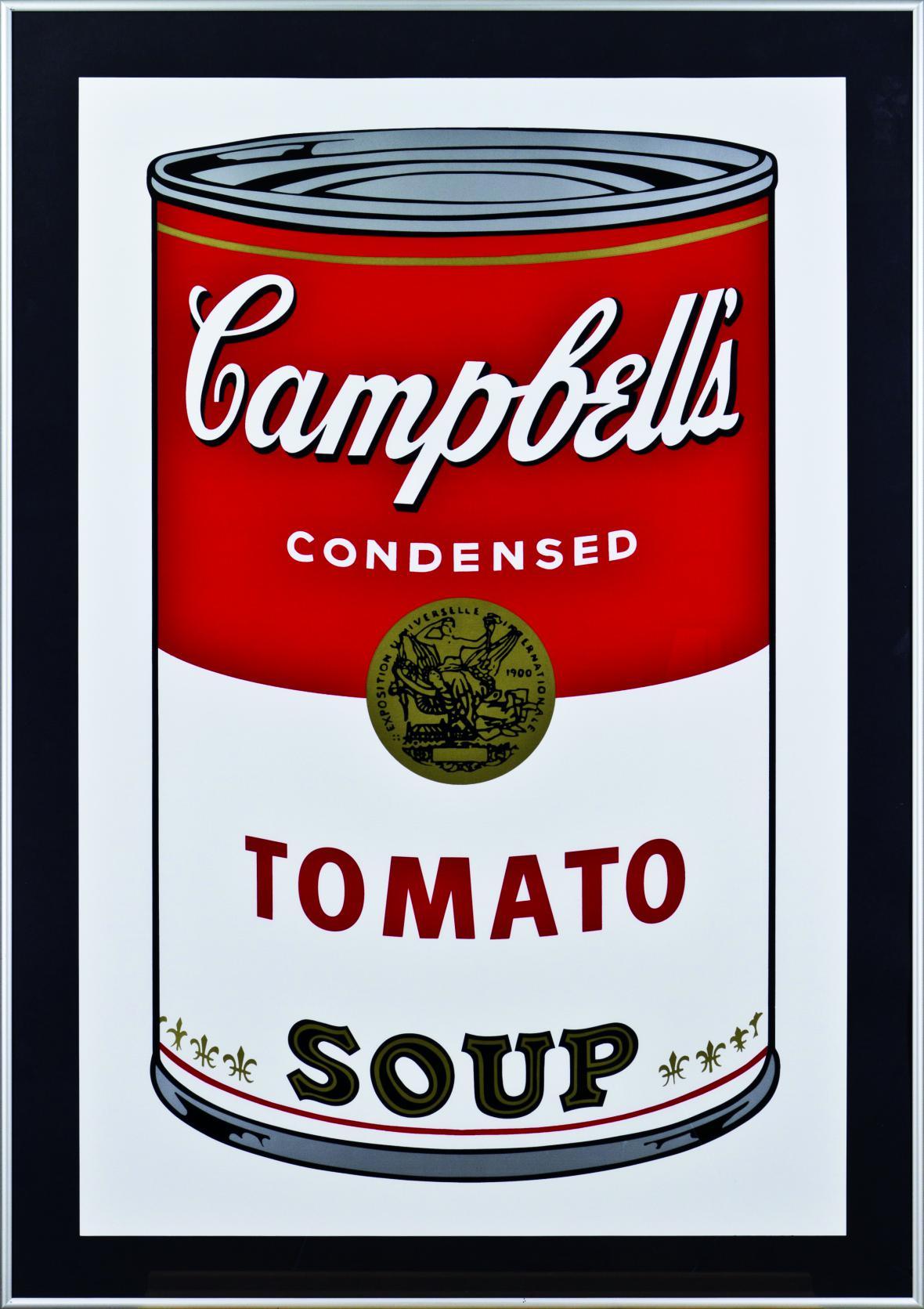 Campbellova polévka Andyho Warhola