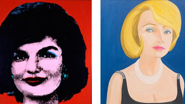 Andy Warhol / Red Jackie (1964) + Alex Katz / Lita (1964)