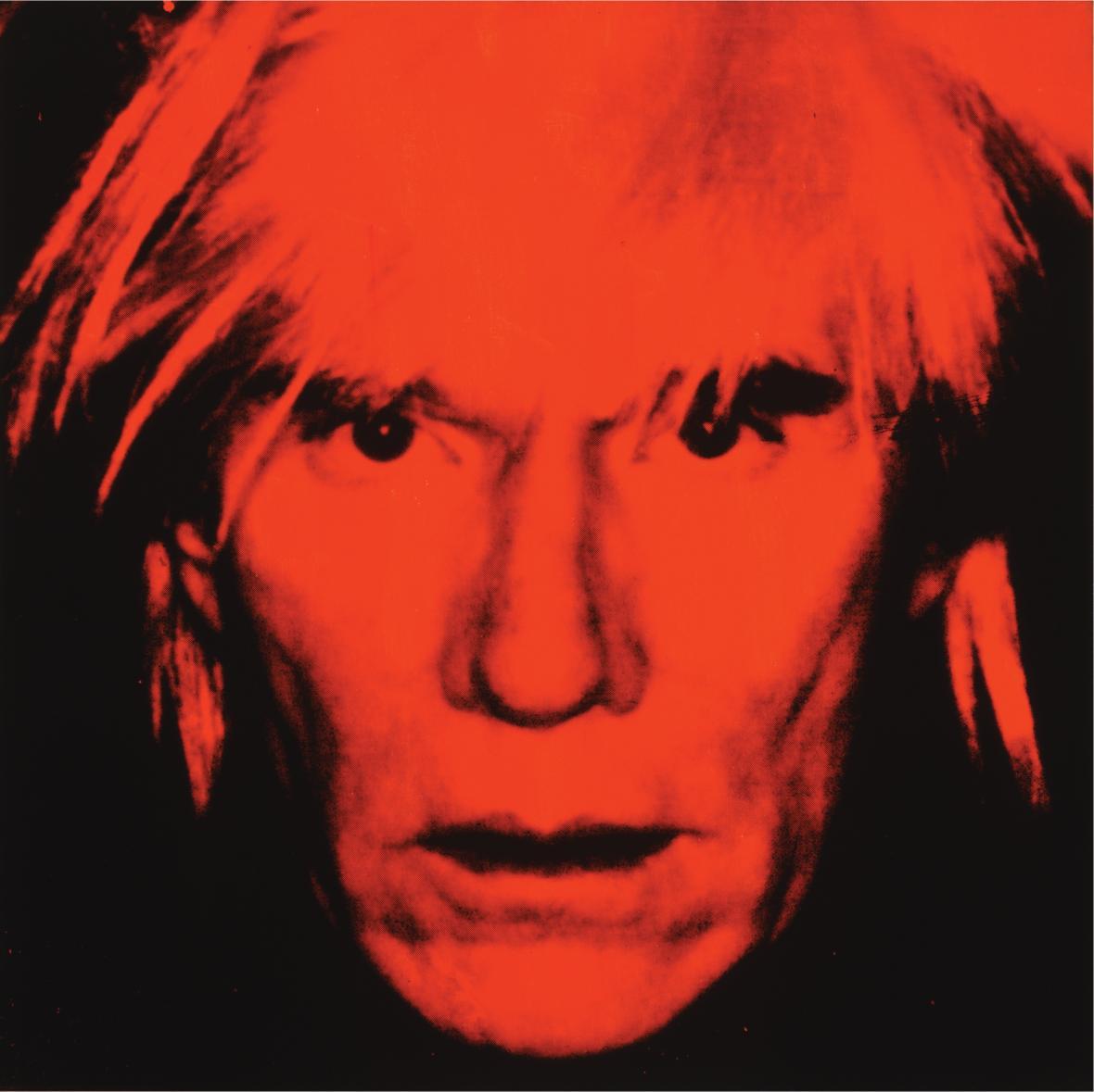 Autoportrét Andyho Warhola