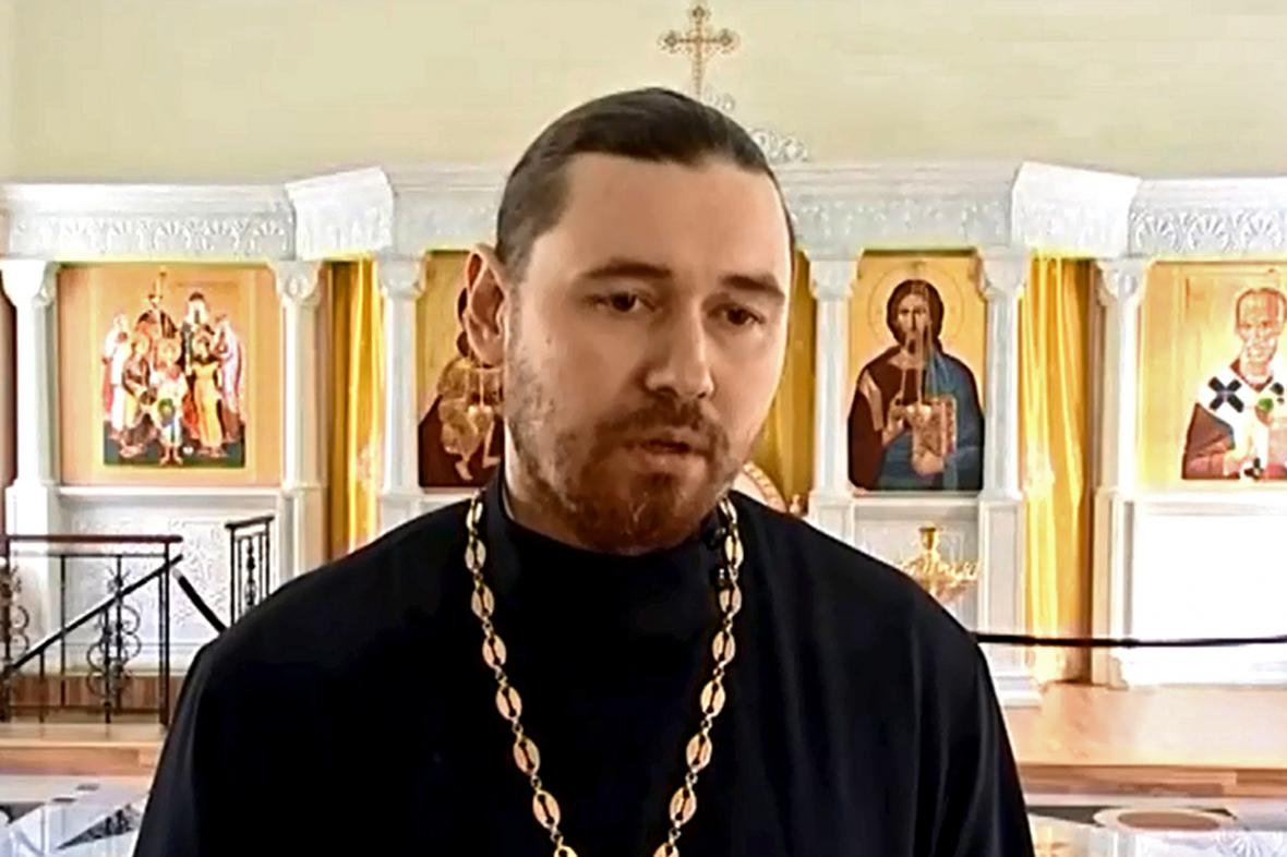 Jekatěrinburský kněz Vladimir Zajcev