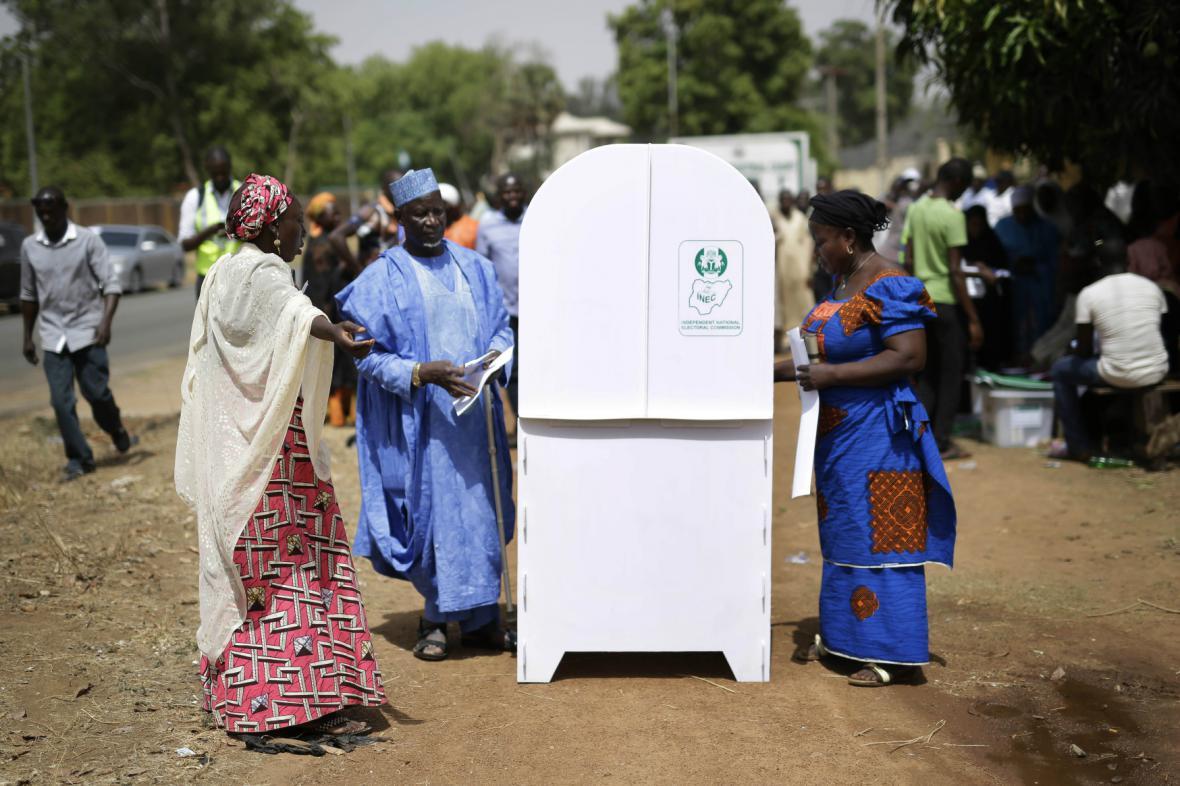 Prezidentské volby v Nigérii
