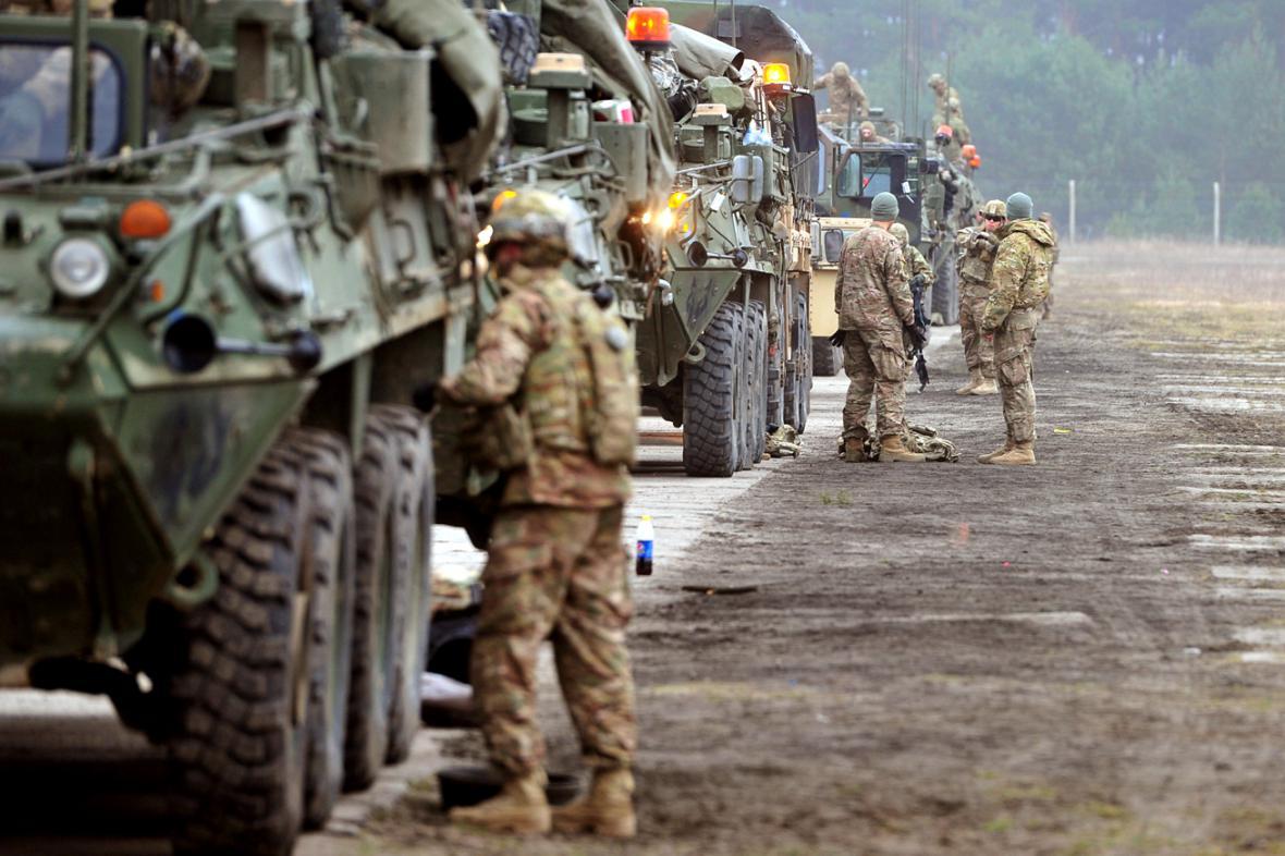 Americký konvoj v Polsku