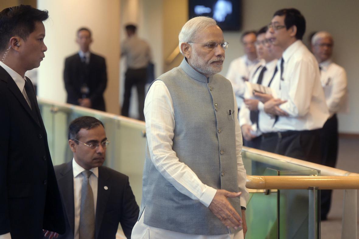 Indický premiér Narendra Modi