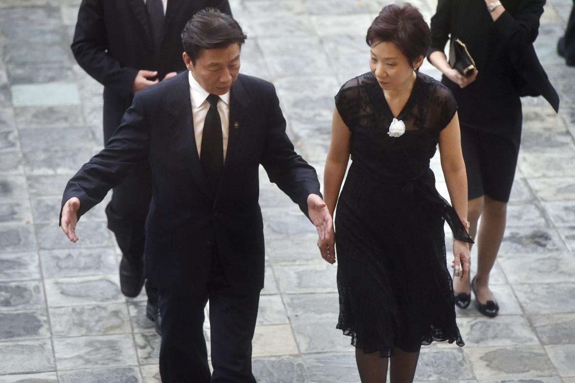 Čínský viceprezident Li Yuanchao