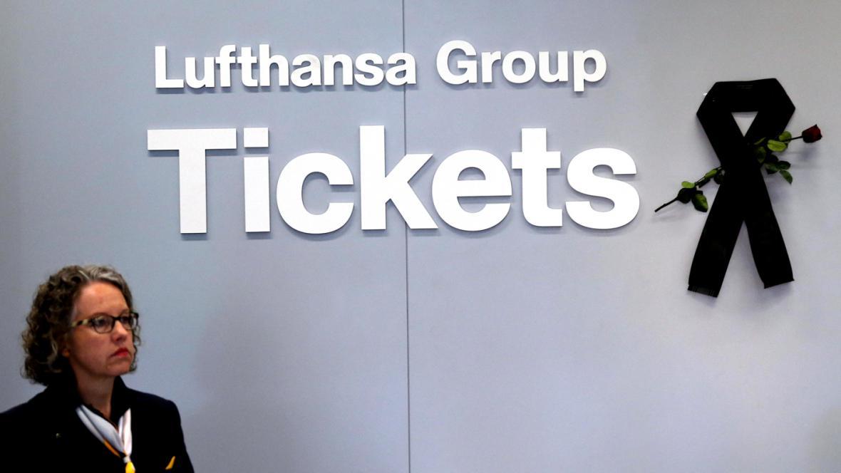 Lufthansa drží smutek za oběti letu 4U 9525