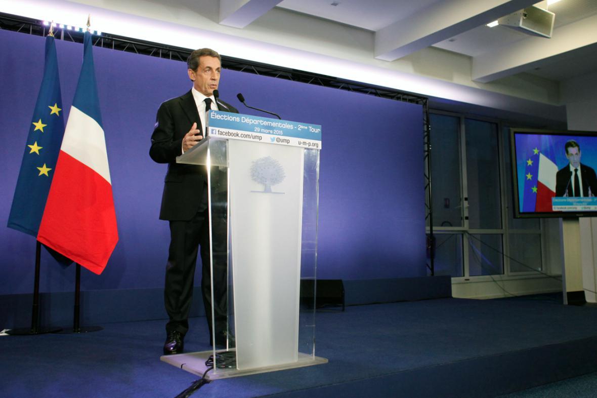 Nicolas Sarkozy po druhém kole francouzských místních voleb