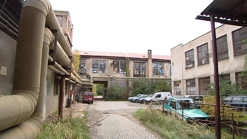 Současný stav areálu bývalé Tesly