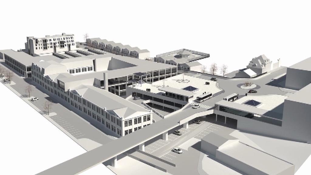 Projekt nové komerční zóny