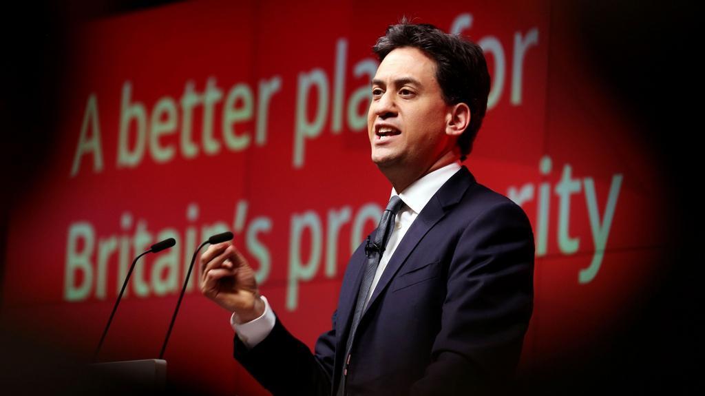 Více naděje, méně hororu pro firmy - slibuje předák labouristů Ed Miliband