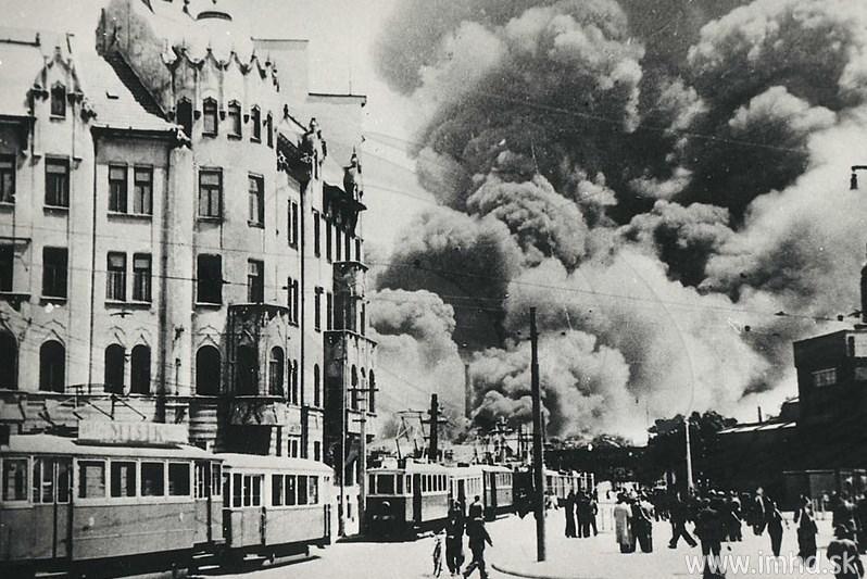 2. světová válka v Bratislavě