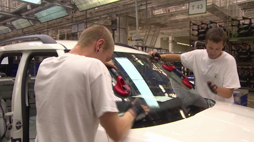 Výroba aut Škoda