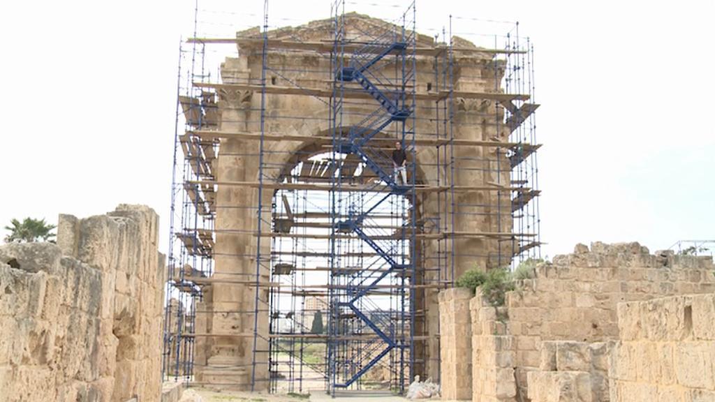 Libanonský Týros v rekonstrukci