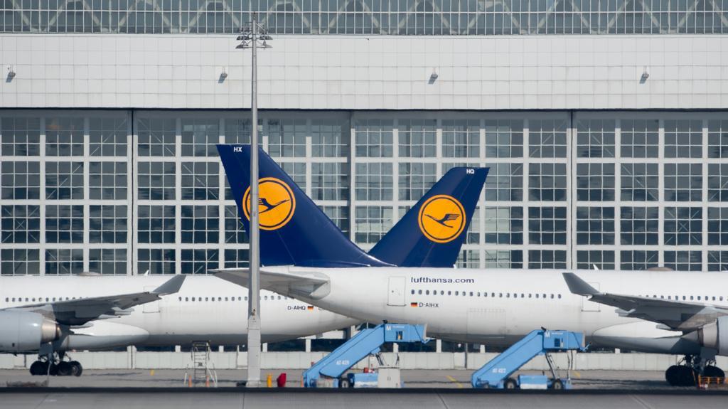Letadla společnosti Lufthansa