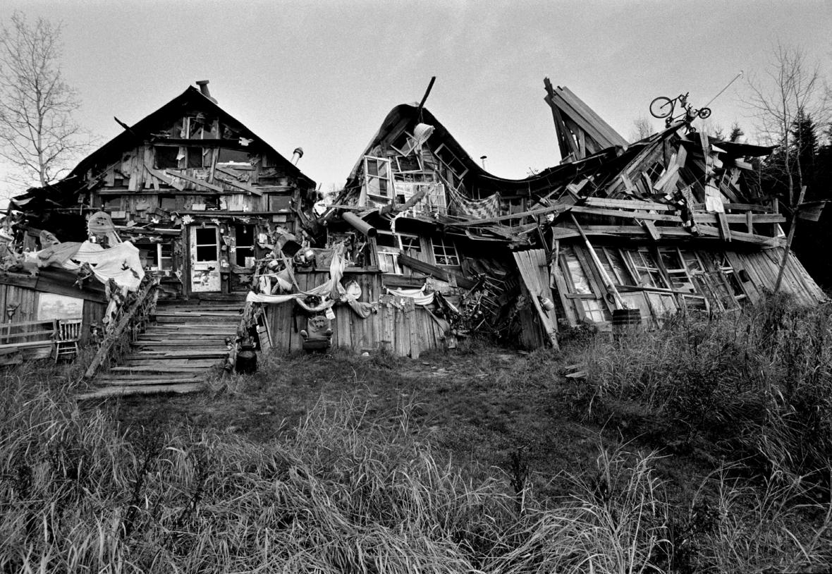 Dům U Tří prasátek (The Three Little Pigs House) od Richarda Greavese