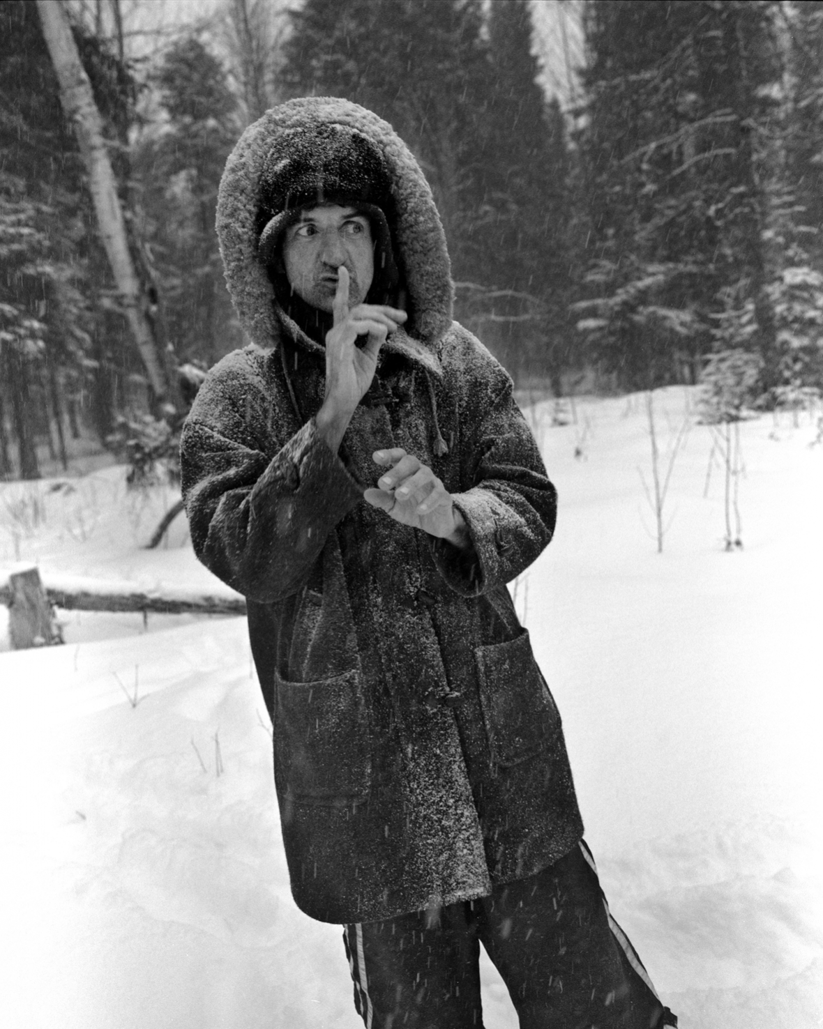 Richard Greaves na fotografii Maria Del Curto