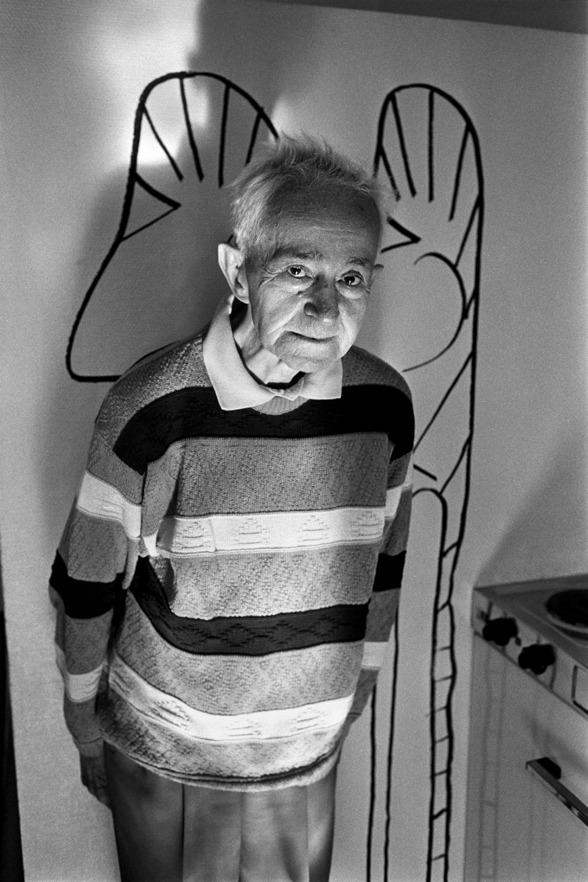 Oswald Tschirtner na fotografii Maria Del Curto