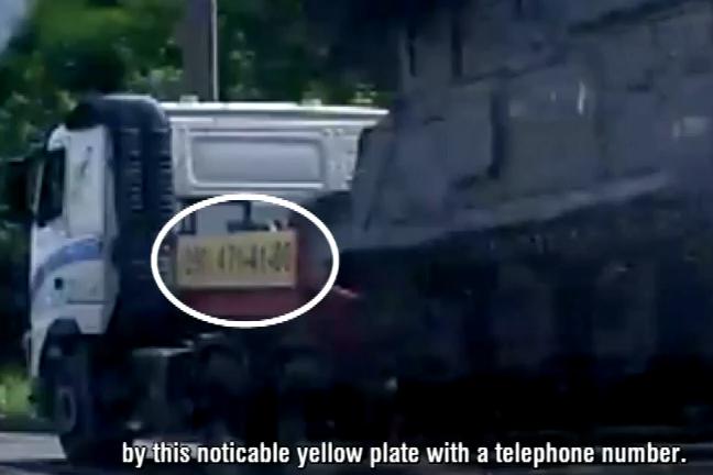 Tahač značky Volvo údajně naložený systémem BUK