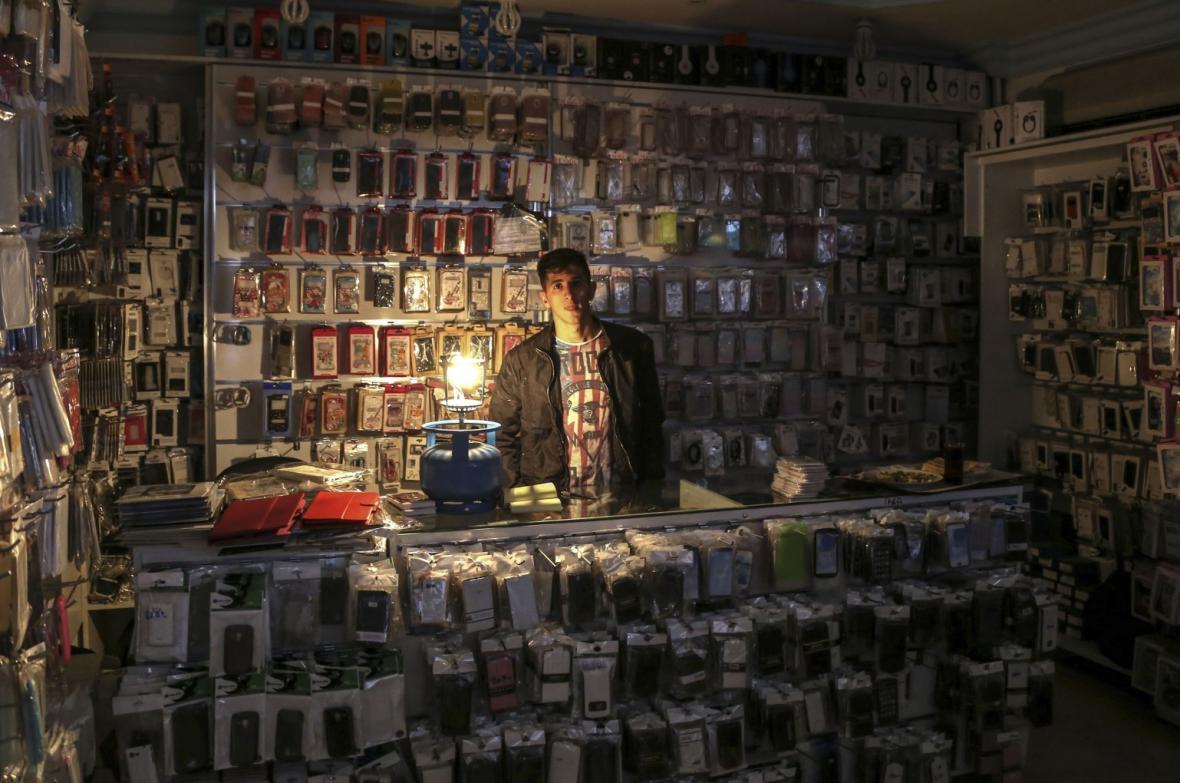Výpadek proudu v Turecku
