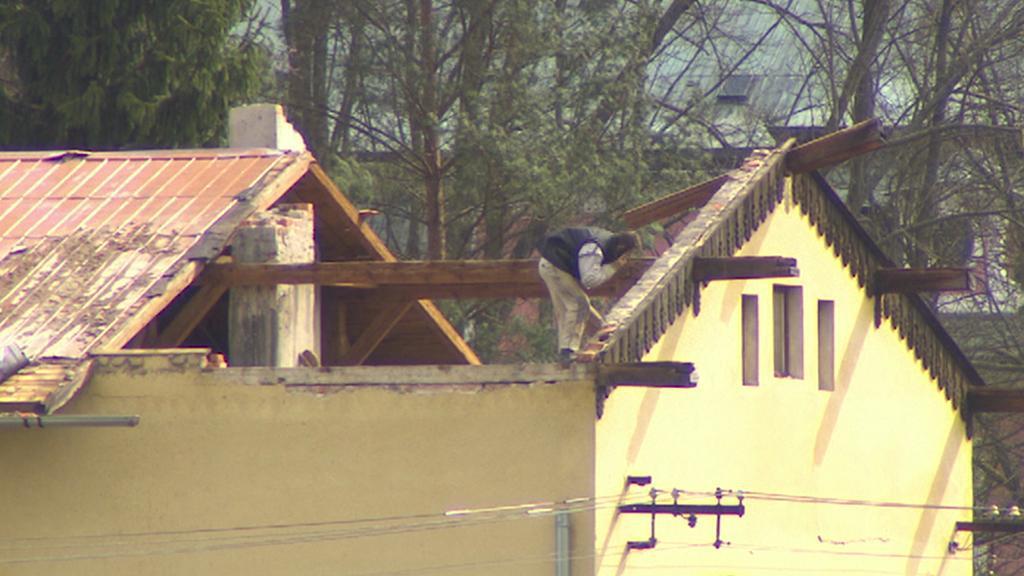 Stržená střecha
