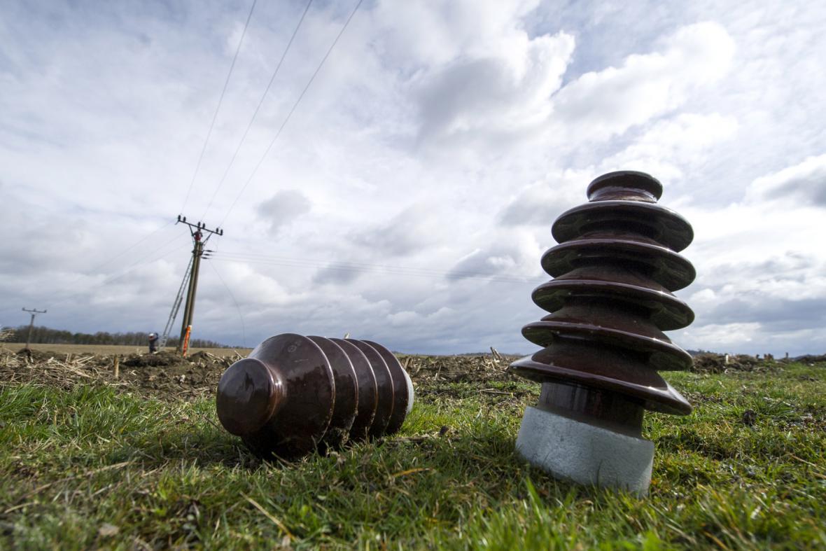 Porucha elektrického vedení