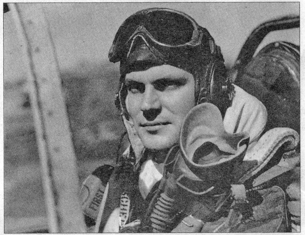 1/Lt William B. Hoelscher ve svém P-51D Mustang