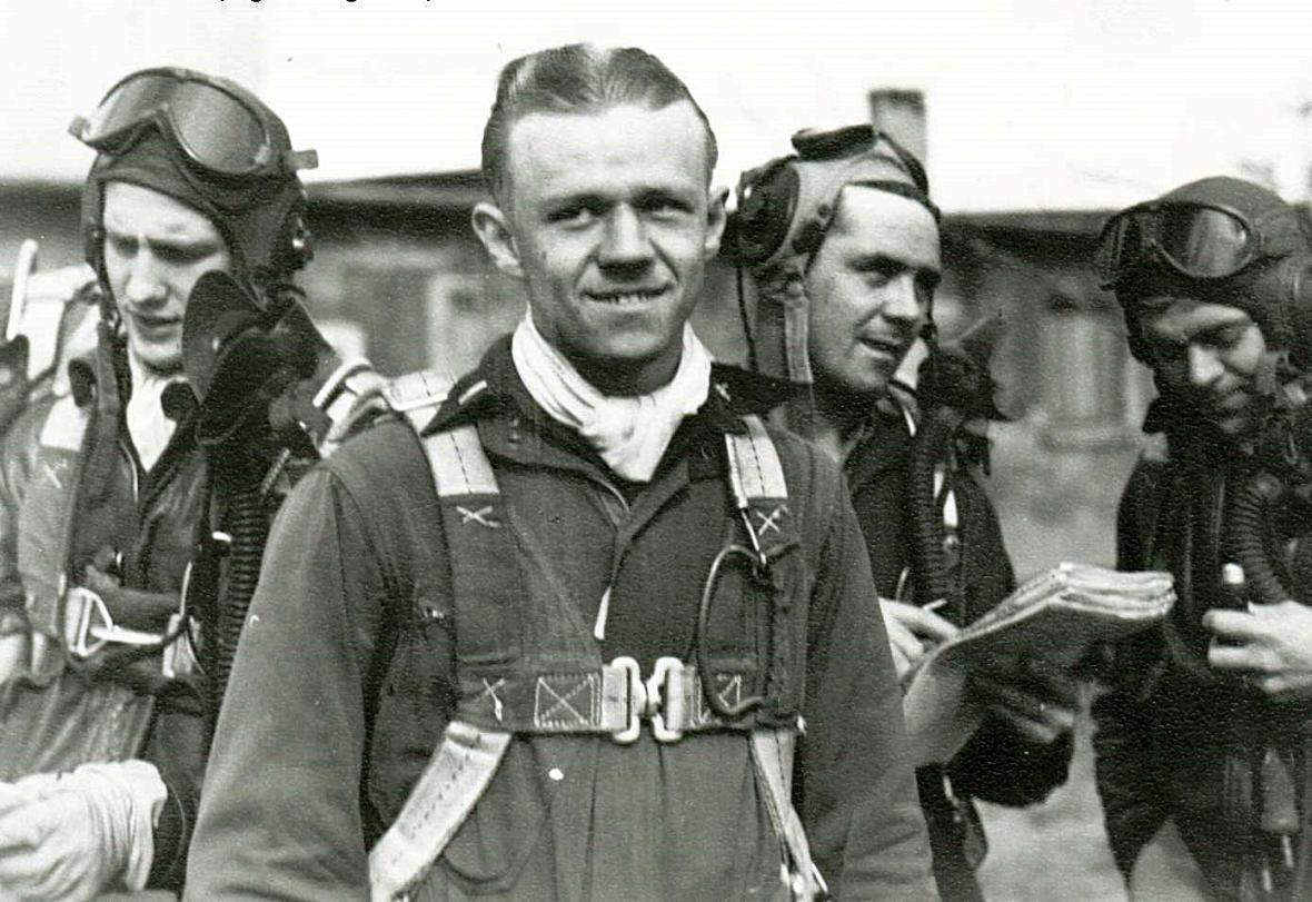 2/Lt Herbert F. Koenig zahynul 17. dubna 1945 při hloubkovém útoku na Děčínsku