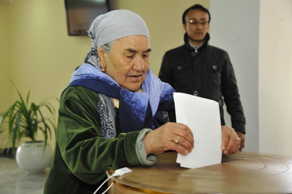 Volby v Uzbekistánu