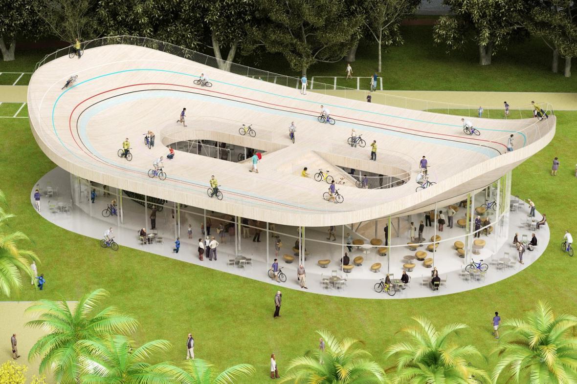 Bicycle Pavilion / NL Architects