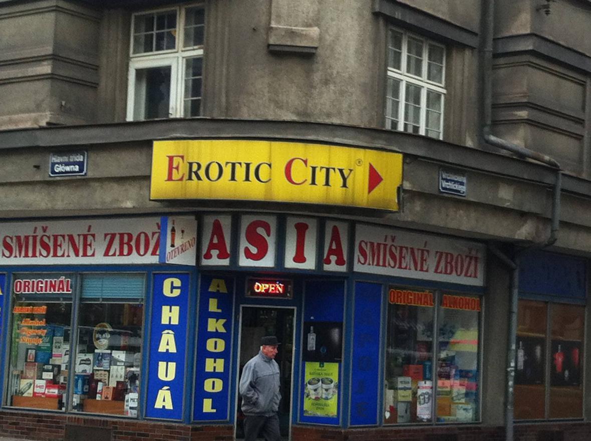 Hlavní třída v Českém Těšíně