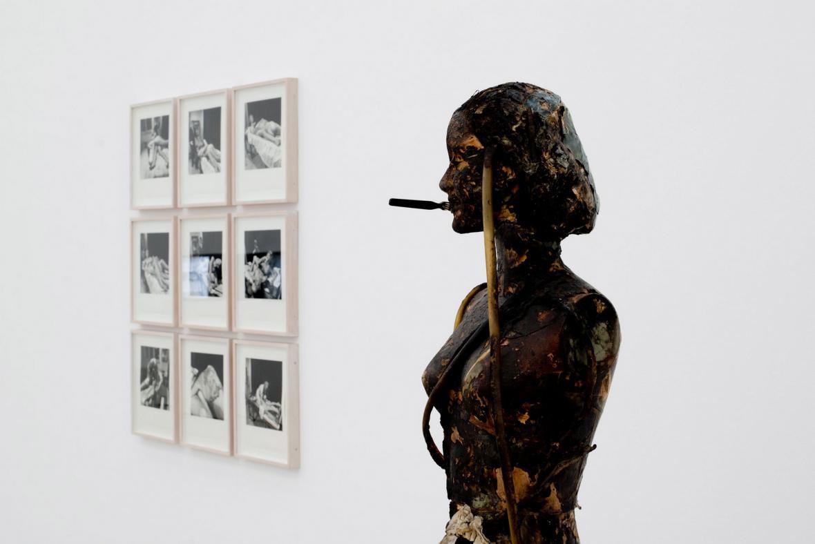Z výstavy Vídeňský akcionismus