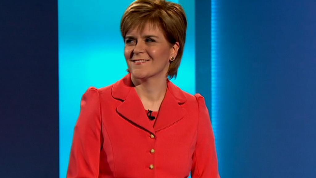 Nicola Sturgeonová (SNP)