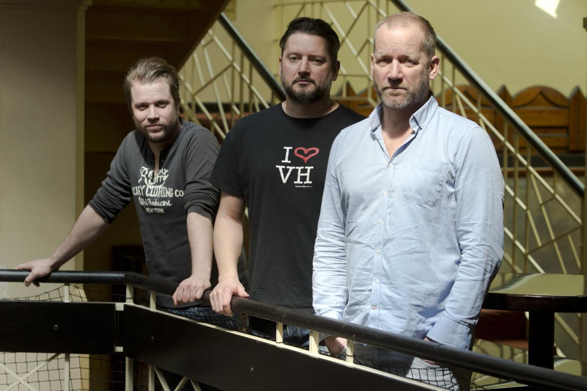 Adam Koller, Michal Pelant a David Koller